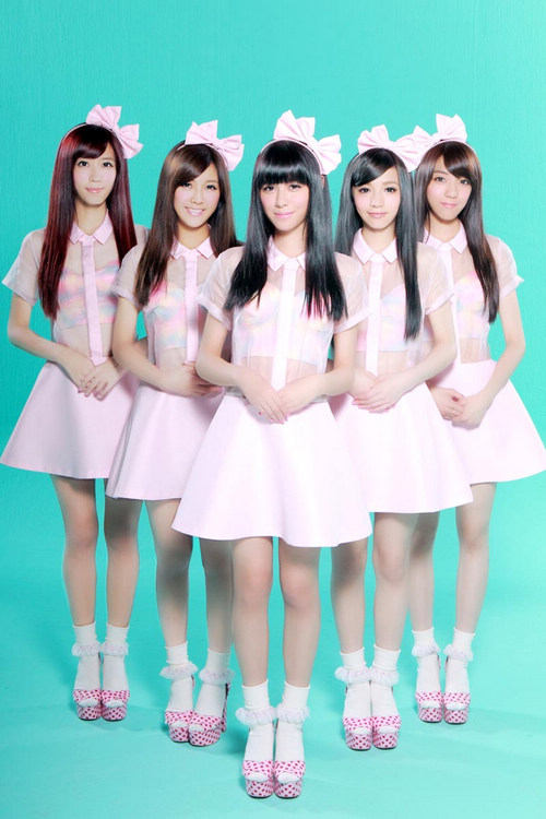 台湾の女性アイドルグループ「Po...