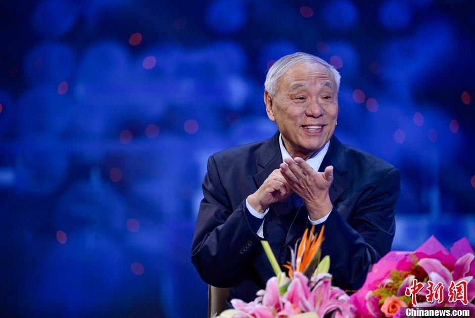 郑哲敏,王小谟获2012年度国家最高科学技术奖(组图)