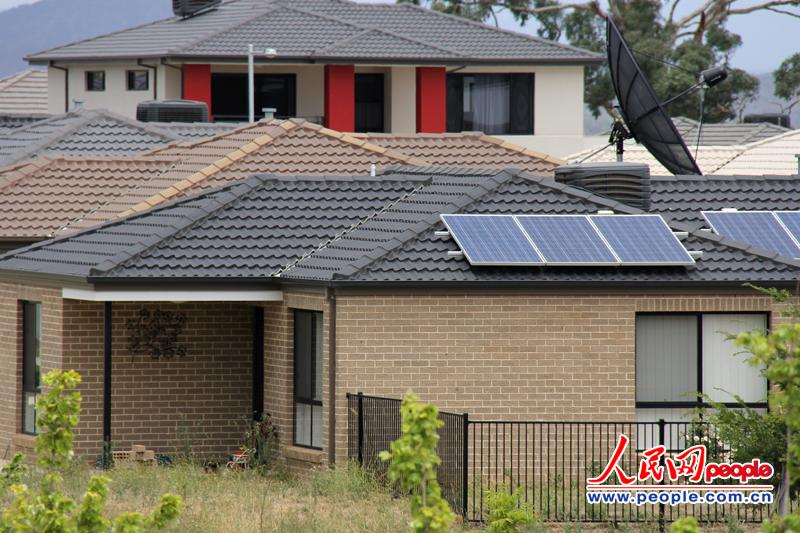 澳大利亚政府共有,表示5年中,过去超过88万个吊灯太阳光伏发电系统品屋顶大厅别墅源图片