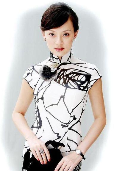孙俪的旗袍look很有旧上海的味道