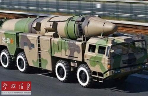 中国导弹力量让美军甚为忌惮