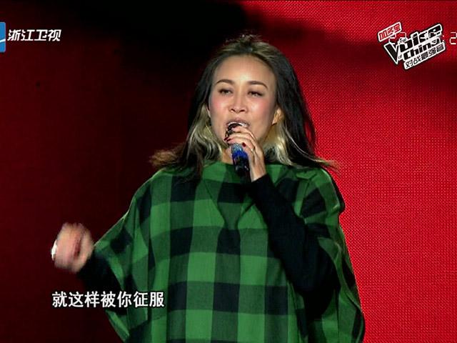 《中国好声音对战最强音》南昌站 那英演唱《一笑而过》