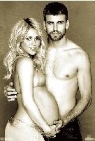 皮克与妻子夏奇拉