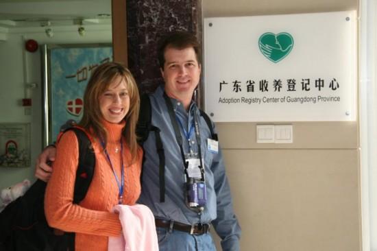 一个名字叫mary的中国女孩和她的美国收养家庭