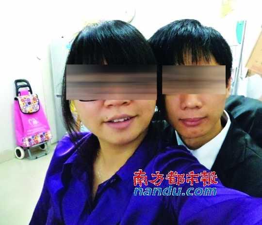 小夫妻在博客中上传的照片。