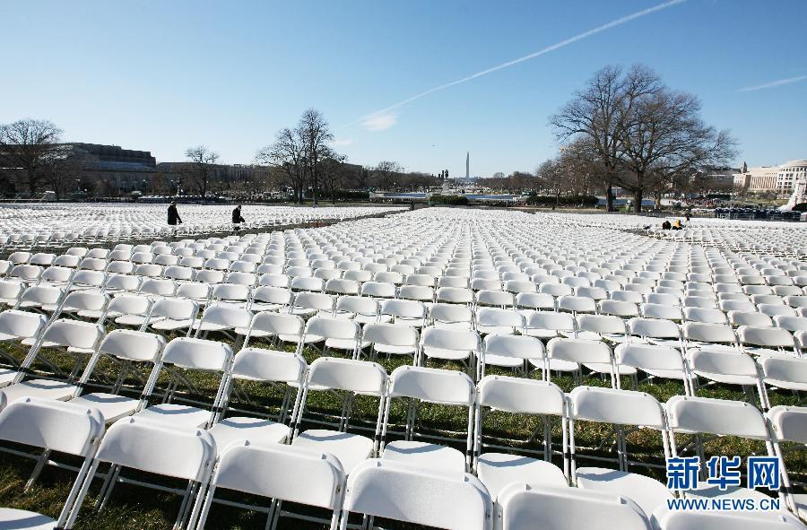 华盛顿准备就绪 静待明日总统就职典礼(组图)