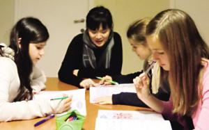 教老外学汉语,高薪挣外币(图)