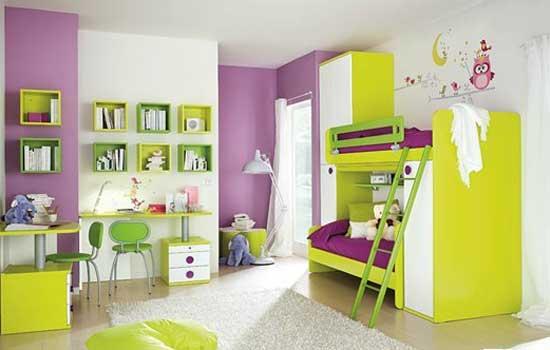 儿童房装修效果图 12款彩色设计让孩子健康成长