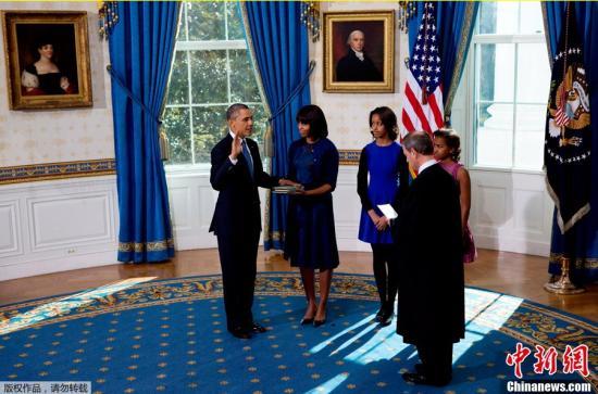媒体披露奥巴马21日公开就职典礼具体流程