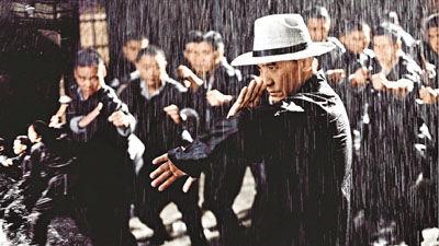 梁朝伟《一代宗师》雨战戏