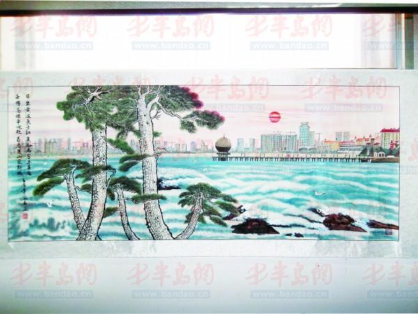 小学画遍烟台海岸线(我要)淮组图口图片