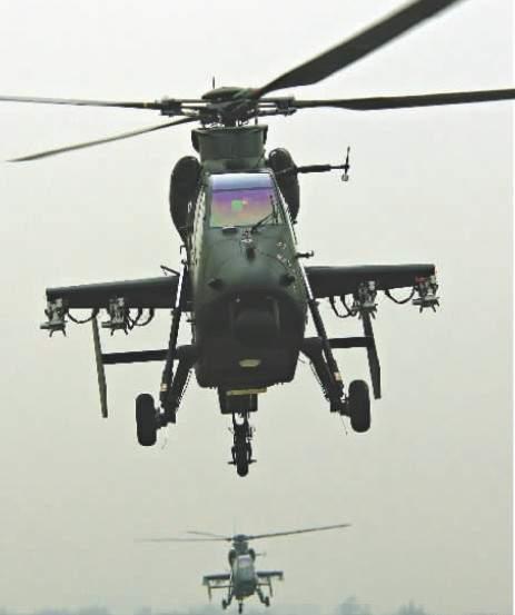 """""""武直-19""""飞行训练"""
