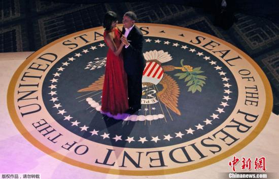 当地时间2013年1月21日,美国华盛顿,奥巴马就职舞会举行。