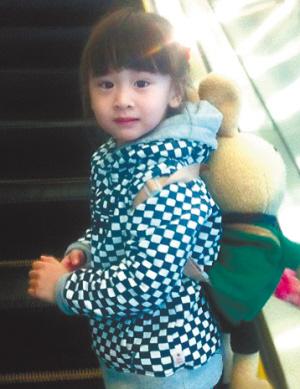 田亮叶一茜4岁女儿近照曝光 遗传父母特长