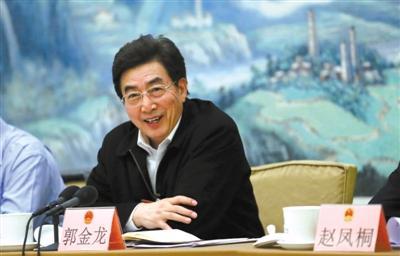 昨日,市人大代表、市委书记郭金龙在东城团全团会上讲话。