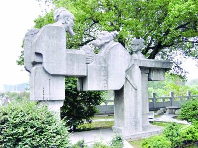 古琴台旷世知音雕塑