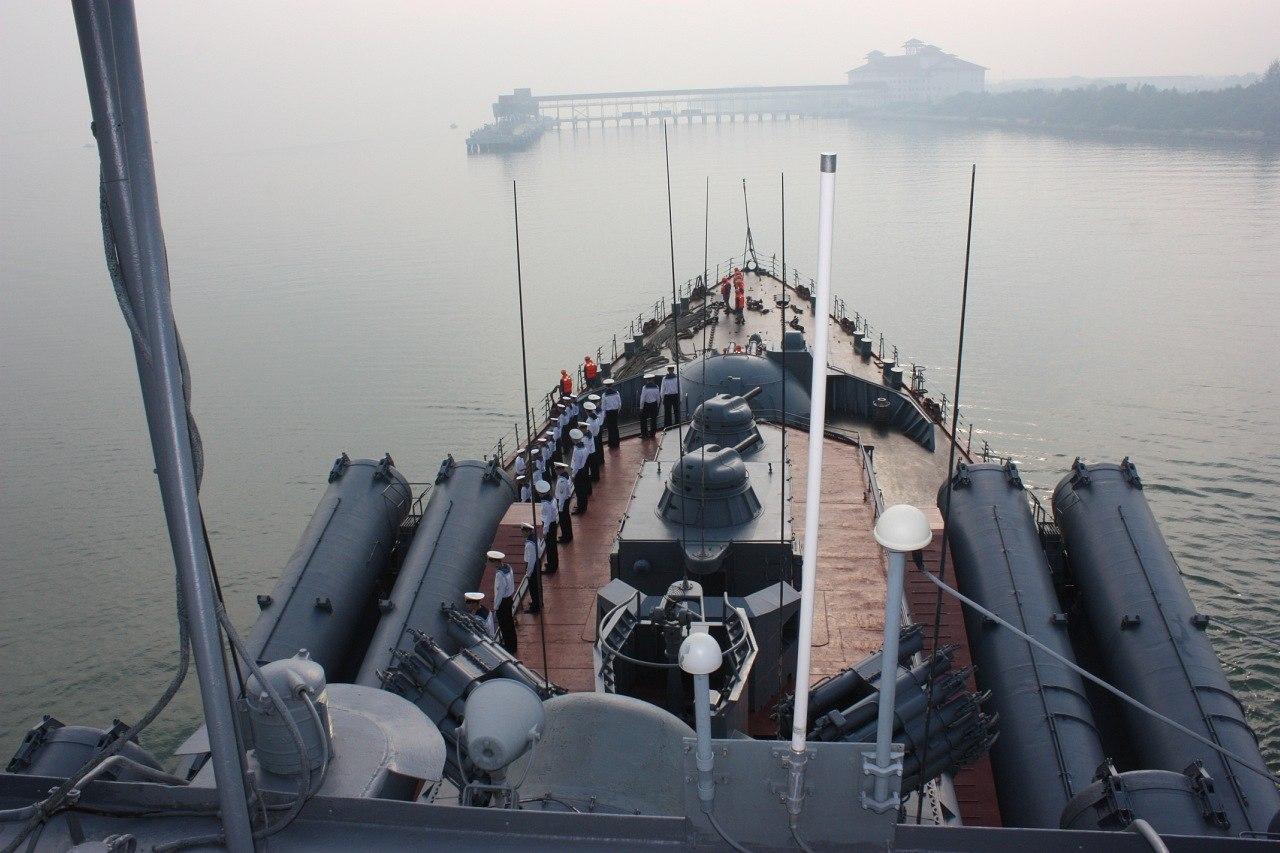 世界 最大 巡洋舰/俄罗斯海军目前还保有核动力巡洋舰作为海上主要力量,虽然这些...