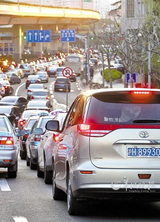 上海私车牌照拍卖创天价(图)
