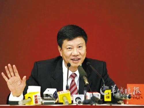 广州市长陈建华:如果要求公示财产我会带头(图)