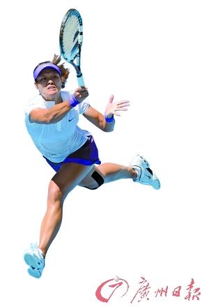 李娜距自己的第二个大满贯冠军只有一步之遥。(CFP)