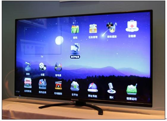 创维55寸平板云电视图片