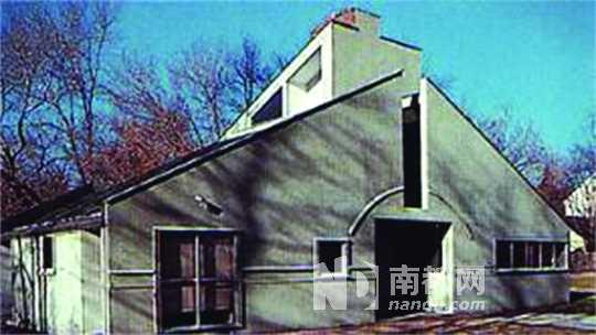 文丘里为母亲设计的住宅.图片
