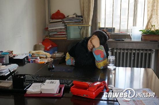 宝鸡市陈仓区城建局工作人员上班打游戏