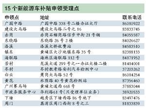 广州首批新能源车购车补贴款昨发放