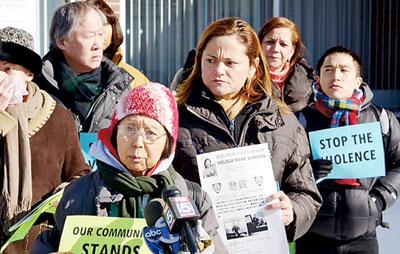 纽约八华裔接连遭暴力抢劫 议员与社团强烈谴责