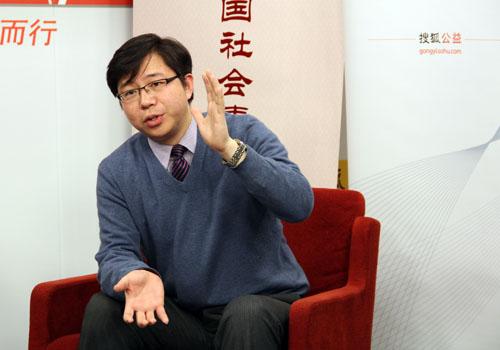 基金会中心网 副总裁 陶泽