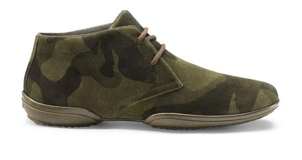 geox2013军装风格男士运动鞋