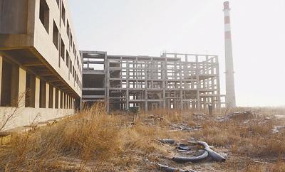 秦皇岛西部生活区垃圾焚烧厂项目建设现状。