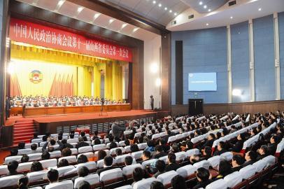 1月28日,省政协十一届一次会议胜利闭幕。 本报记者 李联军摄