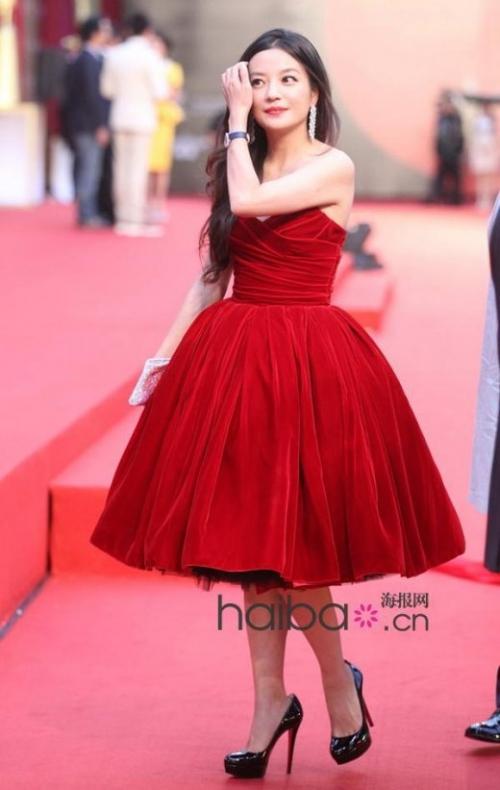 范冰冰林志玲赵薇周迅 当红女星美艳红毯造型