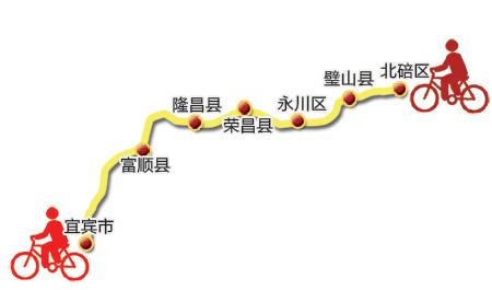 QQ微博直播回家 大学生骑行368公里