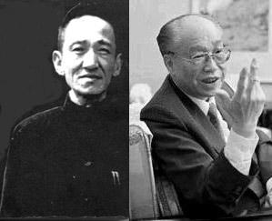 陈布雷与秦孝仪(资料图)