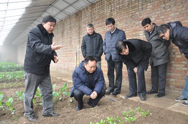 考察痕量灌溉管带生产线
