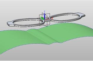 三维CAD中望3D 2013缠绕造型到面应用