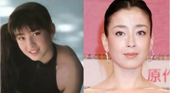 日本中生代美女:宫泽理惠少女气质型脸型较圆