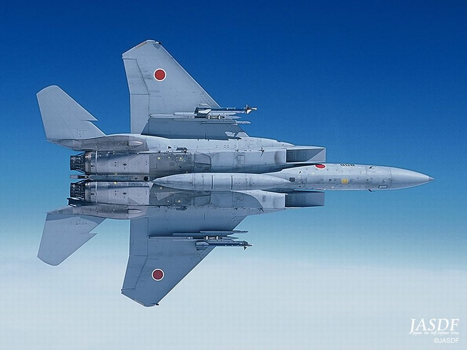 ��G�f�_日本的f-15战斗机