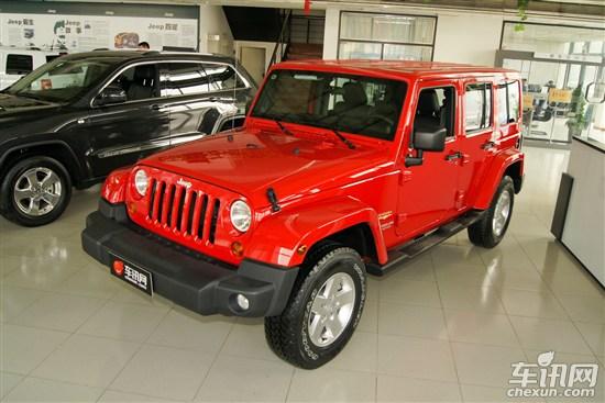 jeep将推低排量牧马人车型 有望下半年引入(组图)