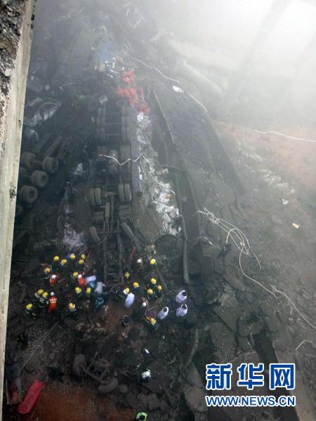 义昌大桥事故已致9人亡 引发爆炸原因仍在调查