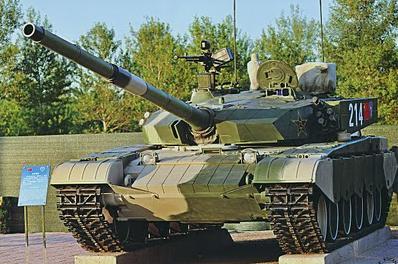 99式主战坦克的原型是中国从第
