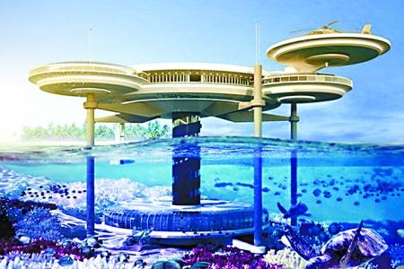 迪拜将修建世界最大水下酒店