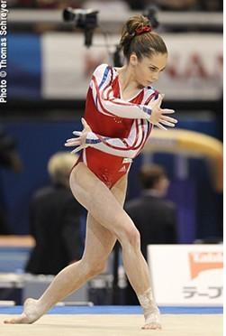 伦敦奥运体操冠军马罗尼 目标2013世界锦标赛