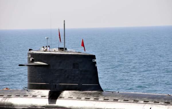 091汉级攻击核潜艇。