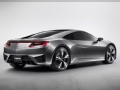 [海外新车]动感奢华的概念2013款讴歌NSX
