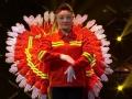 湖南卫视小年夜春晚 四平环卫工人表演《千手观音》