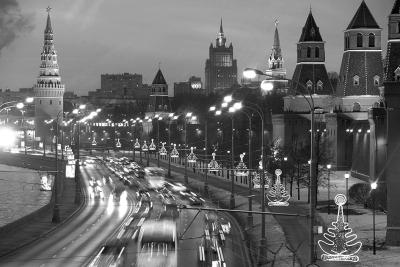 莫斯科河畔的克里姆林宫 新华社 俄新