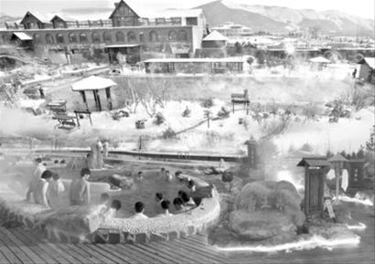辽阳碧湖温泉,沈阳格林天沐温泉,营口忆江南温泉酒店……这个冬天图片